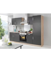 HELD MÖBEL Küchenzeile mit E-Geräten »Toronto«, Breite 270 cm