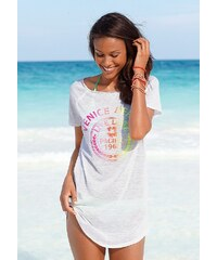 Venice Beach Longshirt mit Frontprint