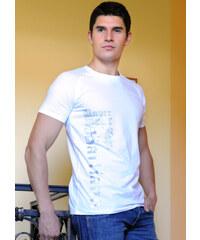 Pánské tričko John Galliano H115T44 bílá Bílá
