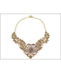 Okouzlující zlatý náhrdelník Antique
