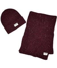 JACK & JONES Herren Mütze Schal & Handschuh-Set Naps Knit Gift Box
