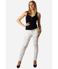 TopMode Dámské bílé jeans