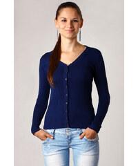 TopMode Elegantní svetr tmavě modrá
