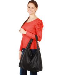 TopMode Dámský elegantní svetřík s nabíraným rukávem červená