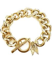 Zlatý náramek Victoria´s Secret chain v černém dárkovém balení 22389388