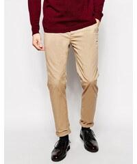 ASOS - Pantalon chino slim - Taupe