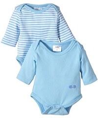Twins Baby - Jungen Langarm-Body im 2er Pack
