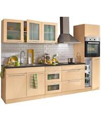 Küchenzeile, Held Möbel, »Malta«, mit E-Geräten, Breite 290 cm