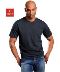Schiesser Unterziehshirt (2 Stück) schlichte Basic-Shirts in Top-Markenqualität