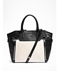 Guess Kabelka Color Blocked Leather Tote