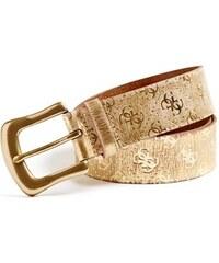 Guess Pásek Metallic Logo-Embossed Belt