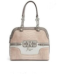Guess Kabelka Mikelle Dome Satchel coral