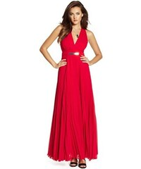 Guess by Marciano Šaty Guess Sophie Pita Halter Pleated Gown