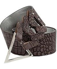Guess Pásek GUESS Croc Triangle Buckle