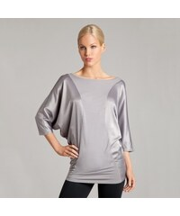 Guess by Marciano Tunika Guess By Marciano Oversized Mix Tunic šedá