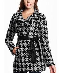 Guess Kabát Sookie Houndstooth Coat