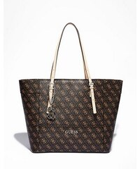 Guess Kabelka Delaney Logo Affair Medium Tote