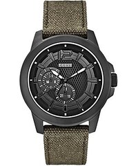 Guess Hodinky Olive Green Masculine Active Sport Watch