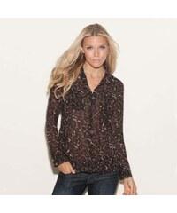 Guess Košile Isabel Leopard Print Shirt