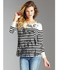 Guess Svetr Long-Sleeve Micaela Sweater