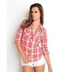Guess Košile Stanton Long-Sleeve Plaid Shirt