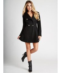 Guess Kabát Dion Long-Sleeve Jacket černý