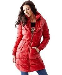 Guess Kabát Long-Sleeve Puffer Coat