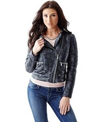 Guess Bunda Packable Long-Sleeve Moto Jacket