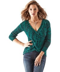 Guess Sveter Long Sleeve Crossover Tunic Sweater