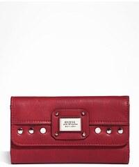 Guess Peněženka Geela Slim Clutch červená