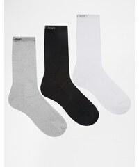 Calvin Klein - Socken im 3er-Set - Mehrfarbig
