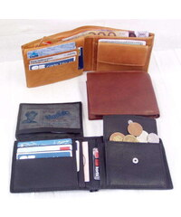 Arwel Pánská kožená peněženka -černá