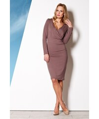 FIGL Dámské šaty M264 brown