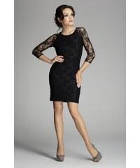 FIGL Dámské šaty M076 black