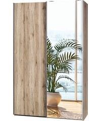 Garderobenschrank, CS Schmal, »Soft Smart«, 120 cm breit in 2 Tiefen