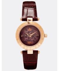 Vivienne Westwood - Time Machine VV092BRBR - Montre avec bracelet en croco - Violet - Violet