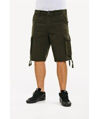 kraťasy REELL - New Cargo Short Forest Green Forest Gre (FOREST GRE)