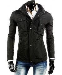 Pánská bunda Slim černá - černá