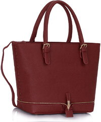 L&S Fashion (Anglie) Kabelka LS00315 červená
