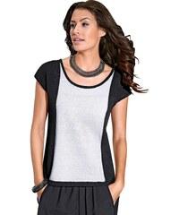 Création L Pullover mit überschnittenen Schultern
