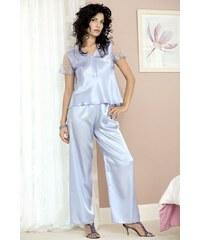 DKAREN Dámské pyžamo Ewa light blue