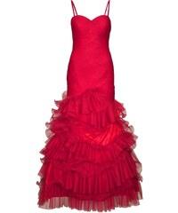 Plesové šaty, šaty na ples APART 34 červená Dopravné zdarma!