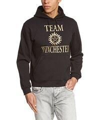 Touchlines Herren Kapuzen Pullover Team Winchester Bros Luzifer Sweatshirt