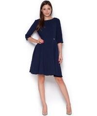 Dámské šaty Figl M327 modré
