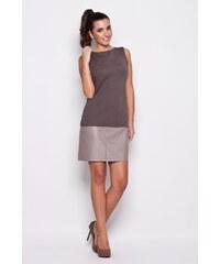 Dámské šaty Katrus 074 šedé