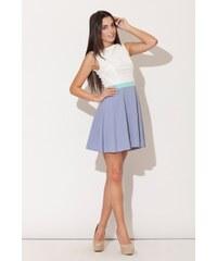 Dámské šaty Katrus K083 modré