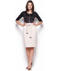 Dámská sukně Figl M270 béžová