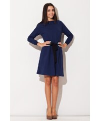 Dámské šaty Katrus K125 modré