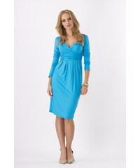 Dámské šaty Makadamia 6801 světle modré