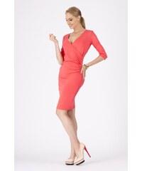 Dámské šaty Makadamia 8985 korálové